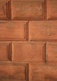 背景红色石墙 免版税库存图片