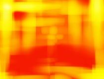 背景红色黄色 免版税图库摄影