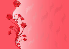 背景红色 免版税库存照片