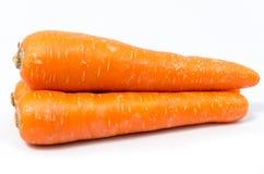 背景红萝卜查出白色 免版税图库摄影