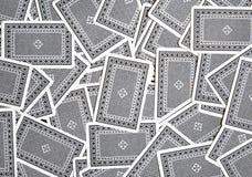 背景纸牌游戏 免版税库存图片