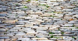 背景纹理鹅卵石街道在波士顿 库存照片