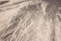 背景纹理黑白沙子 样式自然兰萨罗特岛 免版税库存图片