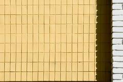 背景纹理,图片 被绘的砖 一小长方形 库存照片
