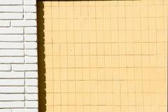 背景纹理,图片 被绘的砖 一小长方形 免版税图库摄影