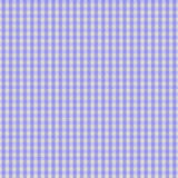 背景织品方格花布紫色 免版税库存照片