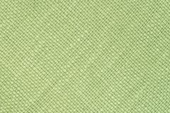 背景织品绿色纹理 免版税库存照片