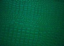 背景经典绿色皮革照片 免版税图库摄影