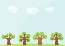 背景结构树 皇族释放例证