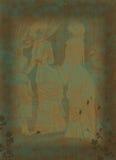 背景维多利亚女王时代的著名人物 库存照片