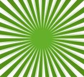 背景绿色光芒 库存例证
