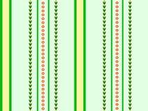 背景绿色数据条 库存图片