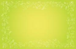 背景绿色模式白色 库存例证