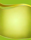 背景绿色模板 免版税库存照片