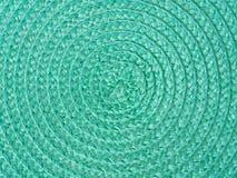背景绿色螺旋 库存图片