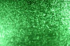背景绿色闪闪发光 免版税库存图片