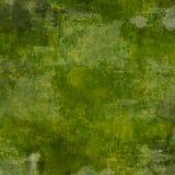 背景绿色grunge正方形 免版税库存照片
