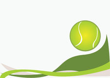 背景网球 图库摄影