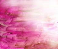 背景美丽的紫红色充满活力的水彩 库存图片
