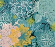 背景美丽花卉 库存图片