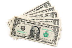 背景美元我们 免版税库存照片
