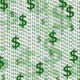 背景美元的符号 免版税库存图片