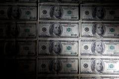 背景美元 免版税库存照片