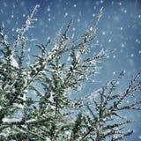 背景美好的例证向量冬天 库存照片