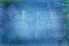 背景美好的蓝色grunge 图库摄影