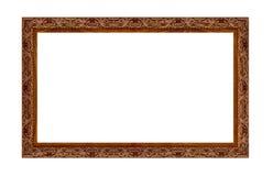 背景美好的黑色框架漏洞kpugloe仿造了照片 免版税库存图片