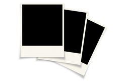 背景美好的黑色框架漏洞kpugloe仿造了照片 库存照片