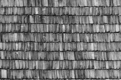背景老屋顶木头 免版税库存照片