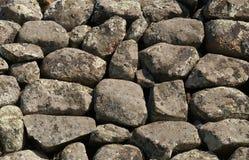 背景老石头 免版税库存照片