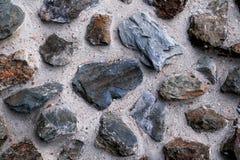 背景老石纹理墙壁 免版税库存照片