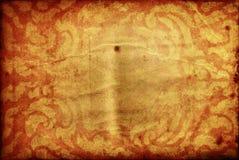 背景老纸文本泰国传统 库存照片