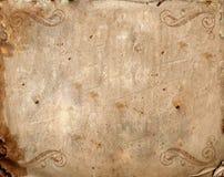 背景老纸葡萄酒 库存照片