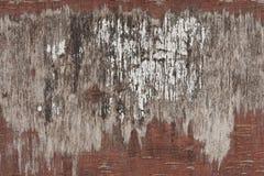 背景老葡萄酒被绘的红色胶合板 库存照片