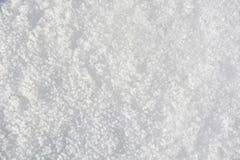 背景能使用的土块严重的报道的设计员数量雪表面 免版税库存照片