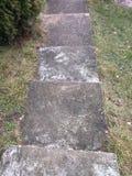 背景能使用的步骤石头 免版税库存图片
