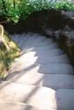 背景能使用的步骤石头 图库摄影