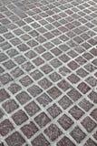 背景能使用的花岗岩铺路石 免版税库存图片