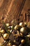 背景能圣诞节使用的例证主题 库存图片
