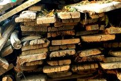 背景自然栈森林 免版税库存图片