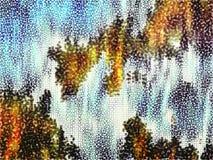 背景自然模式 库存图片