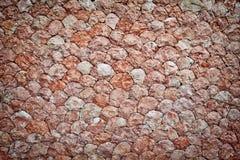 背景自然石墙 图库摄影