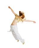 背景舞蹈演员节律唱诵的音乐查出的&# 图库摄影