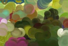 背景色的彩虹 免版税库存照片