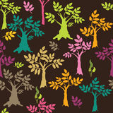 背景色的结构树 图库摄影