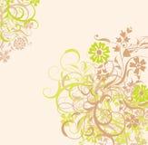 背景花卉向量 库存照片