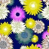 背景花卉无缝 库存照片